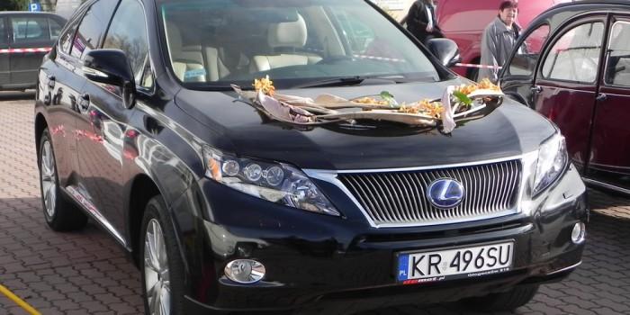 Wynajem Lexus do ślubu