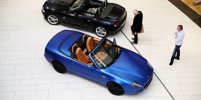 Wynajem Maserati Spyder cabrio